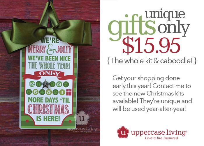 12 Days Christmas Countdown Gift