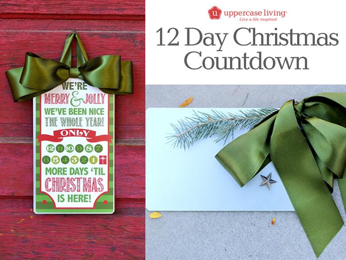 12 Days Christmas Countdown Kit