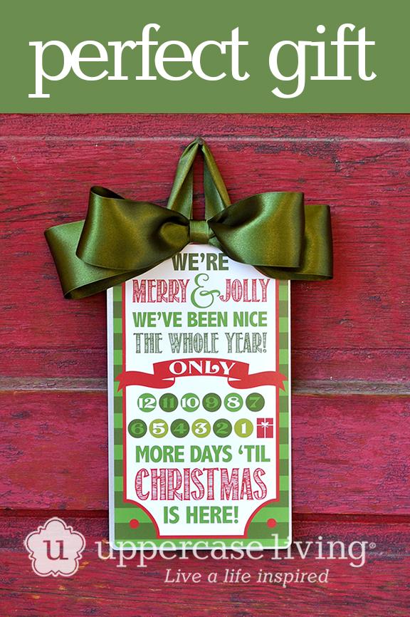 12 Days Christmas Countdown Pin