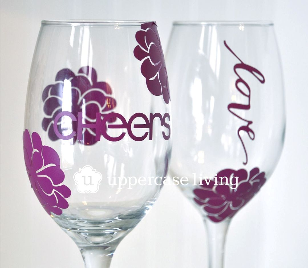 Be You Expression Sheet Wine Glasses