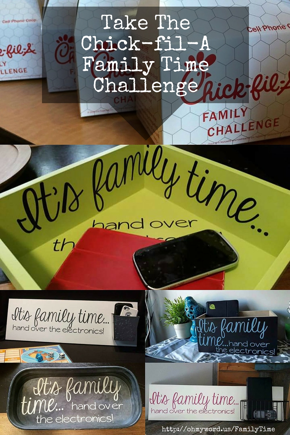 Chick-fil-A Family Time Challenge It's Family Time
