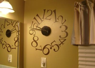 Contemporary Clock, 16511 - 4