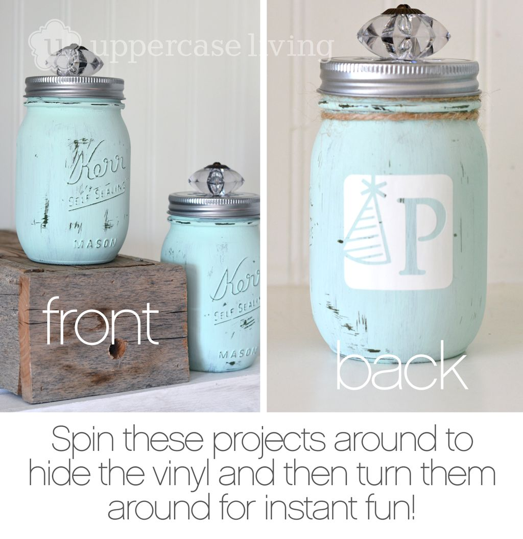 Distressed Mason Jar Project Tip 1