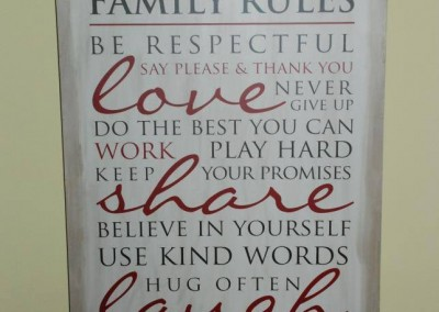Family Rules 19543 - 4