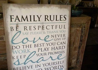 Family Rules 19543 - 6