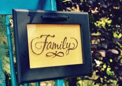 Family with Frameworks