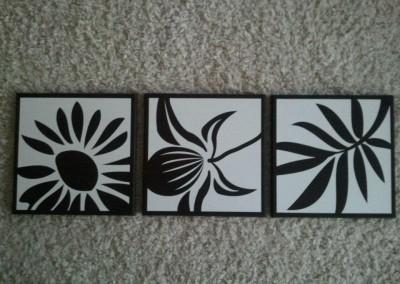 Flower Squares 13562 - 14