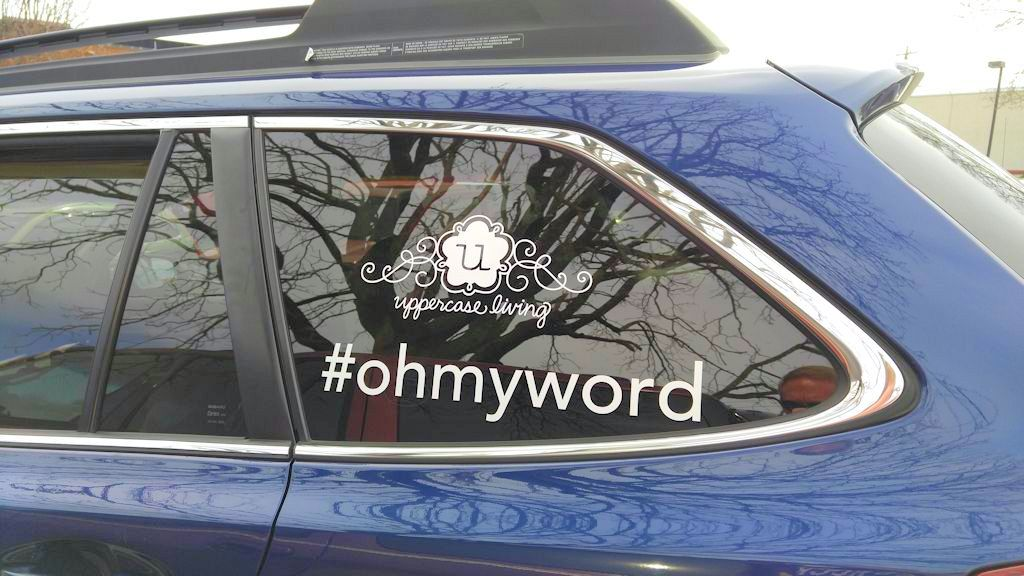 What is #OhMyWord?