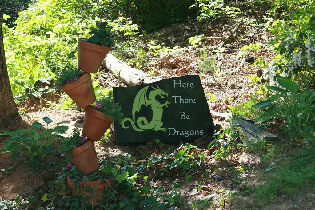 Here There Be Dragons Upcycle Project Wide