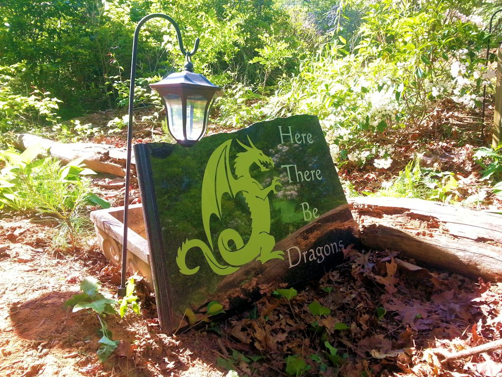 Here There Be Dragons Upcycle Project