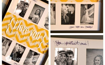 Picture Frame Project – I Love You Because