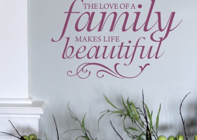 The Love of a Family makes life Beautiful