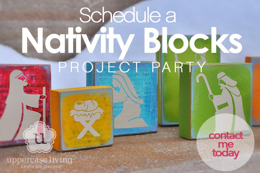 Christmas Nativity Blocks Project Idea
