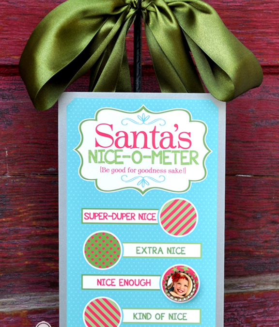 Santa's Naughty or Nice Christmas Kit