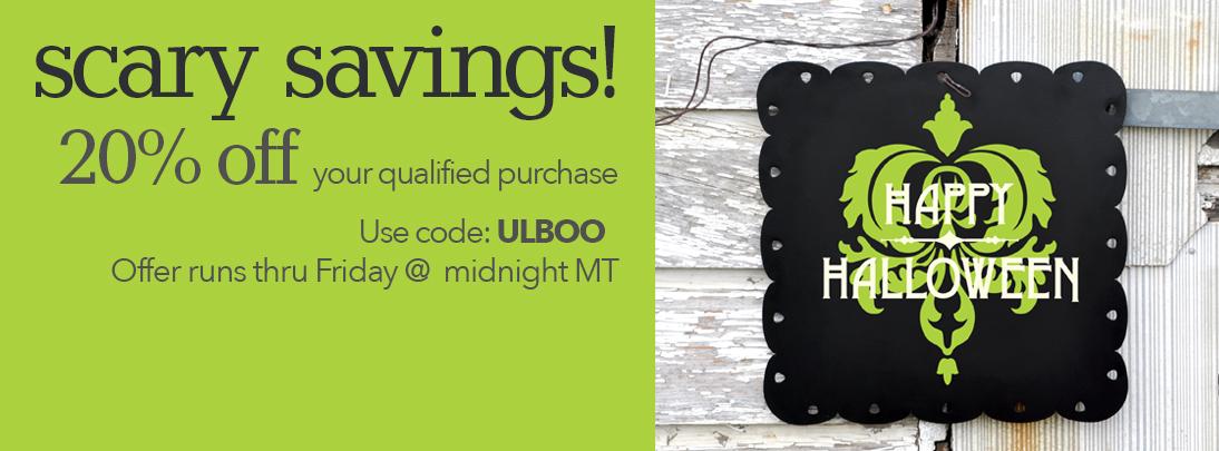 Scary Savings Promo Code