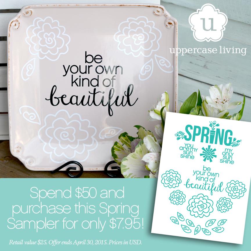 Spring Sample Pack - Pink Plate