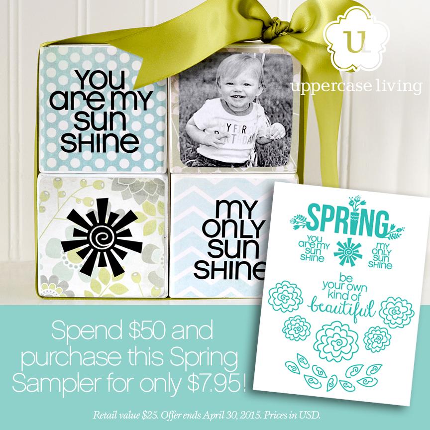 Spring Sample Pack - Sunshine Blocks