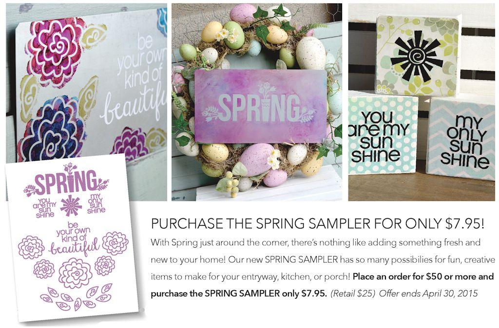 Spring Sample Pack