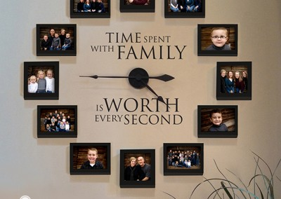 Time spent with family PIN