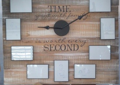Time spent with family clock, 20982 - 4