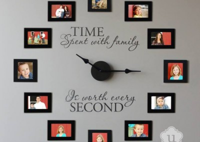 Time spent with family clock, 20982