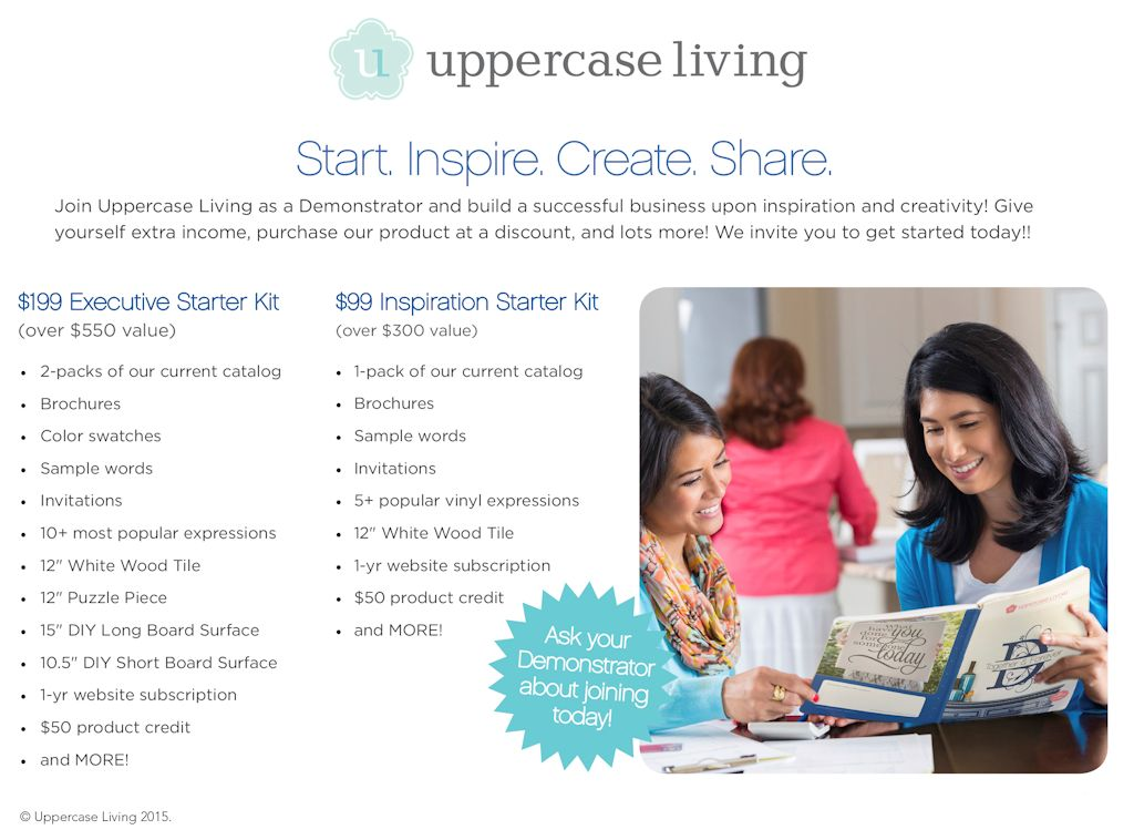 Uppercase Living Starter Kits