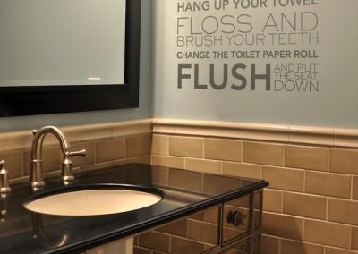 Wash Your Hands - Bathroom