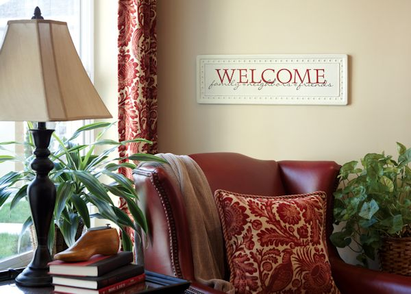 Uppercase Living Welcome